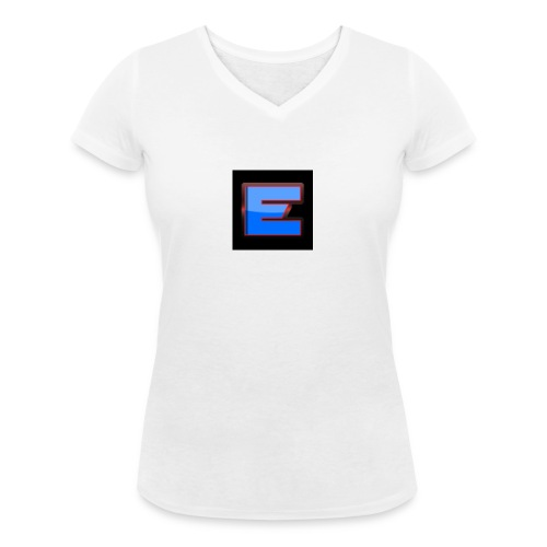 Epic Offical T-Shirt Black Colour Only for 15.49 - Women's Organic V-Neck T-Shirt by Stanley & Stella