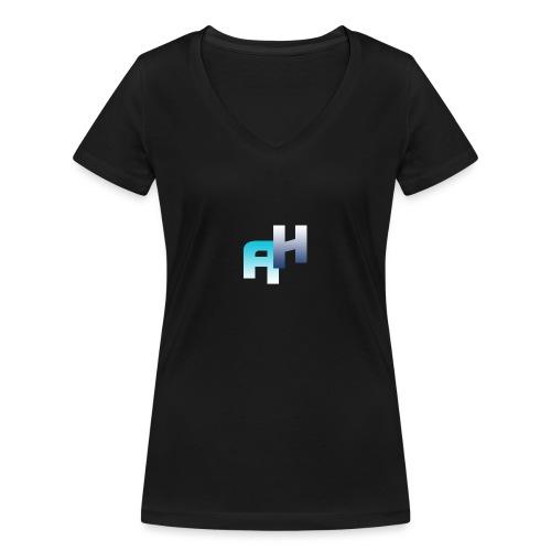 Logo-1 - T-shirt ecologica da donna con scollo a V di Stanley & Stella