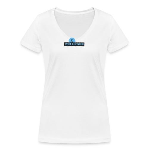 Logo jæren bluesklubb 500px png - Økologisk T-skjorte med V-hals for kvinner fra Stanley & Stella