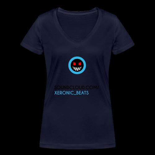 XERONIC LOGO - Women's Organic V-Neck T-Shirt by Stanley & Stella