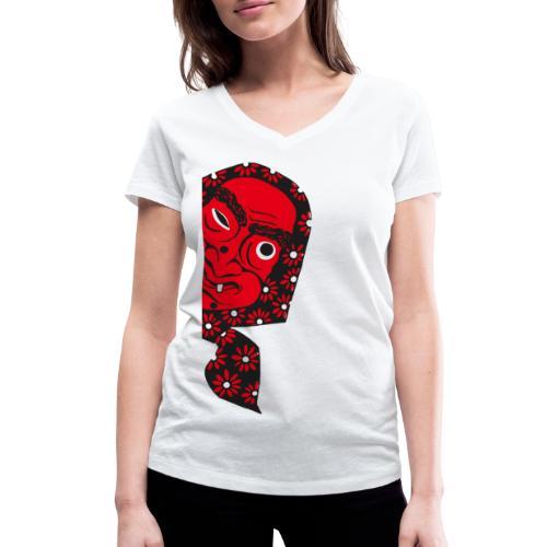 VEREIN BUCHHORN HEXEN hexenkopf retro - Frauen Bio-T-Shirt mit V-Ausschnitt von Stanley & Stella