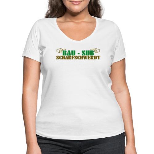 BAU-SUB Scharfschwerdt - Frauen Bio-T-Shirt mit V-Ausschnitt von Stanley & Stella