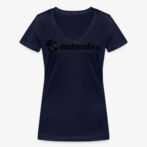 electroradio.fm - Frauen Bio-T-Shirt mit V-Ausschnitt von Stanley & Stella