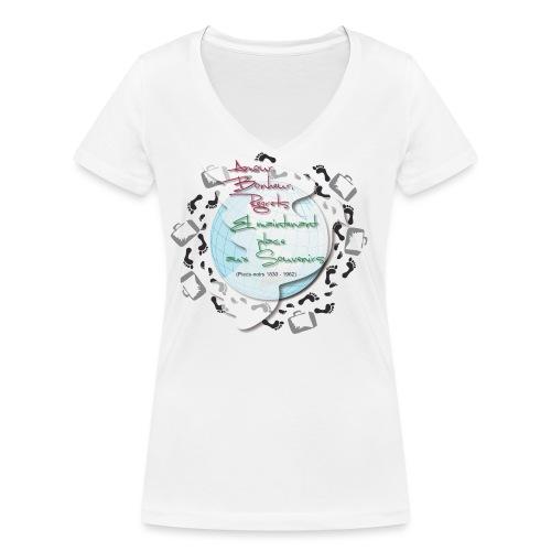 souvenirs pieds noirs - T-shirt bio col V Stanley & Stella Femme