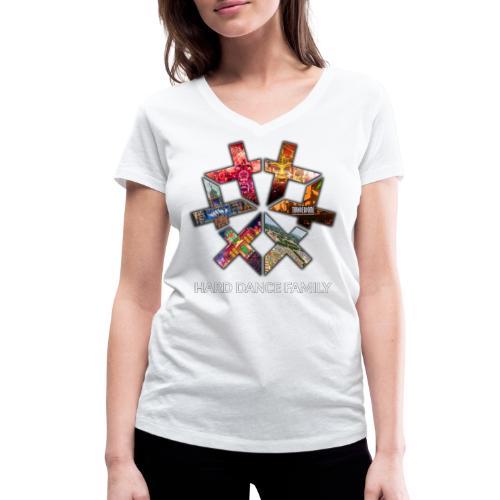 Events mushup - Vrouwen bio T-shirt met V-hals van Stanley & Stella