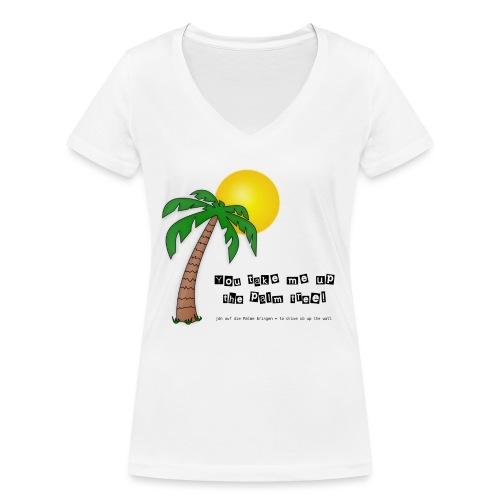 palm tree definition - Frauen Bio-T-Shirt mit V-Ausschnitt von Stanley & Stella