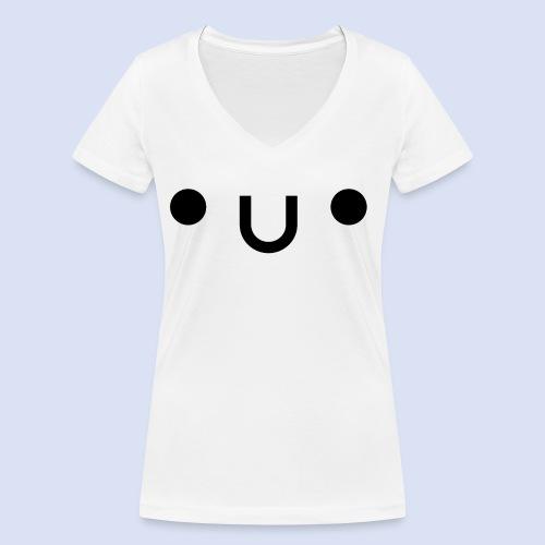 •u• - T-shirt bio col V Stanley & Stella Femme