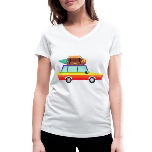 Gay Van | LGBT | Pride - Frauen Bio-T-Shirt mit V-Ausschnitt von Stanley & Stella
