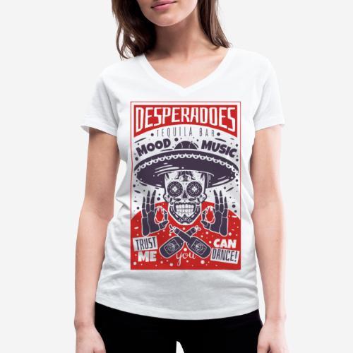 desperadoes mexican tequila - Frauen Bio-T-Shirt mit V-Ausschnitt von Stanley & Stella