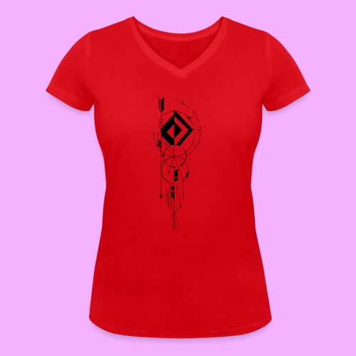 la vie - T-shirt bio col V Stanley & Stella Femme
