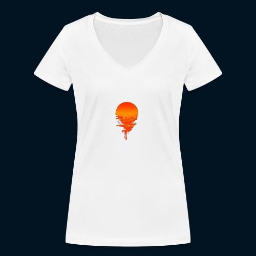 Weltuntergang - T-shirt ecologica da donna con scollo a V di Stanley & Stella