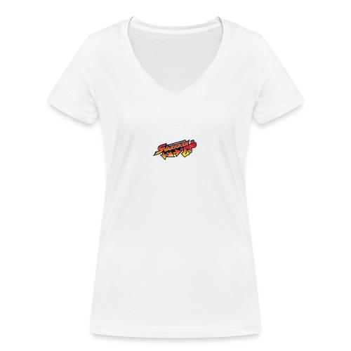 Spilla Svarioken. - T-shirt ecologica da donna con scollo a V di Stanley & Stella