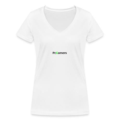 pcgamers-png - T-shirt ecologica da donna con scollo a V di Stanley & Stella