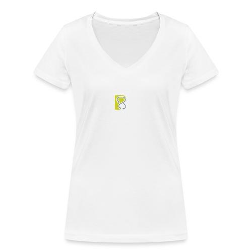 LogoTS - Frauen Bio-T-Shirt mit V-Ausschnitt von Stanley & Stella