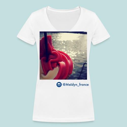 ice cream - T-shirt bio col V Stanley & Stella Femme