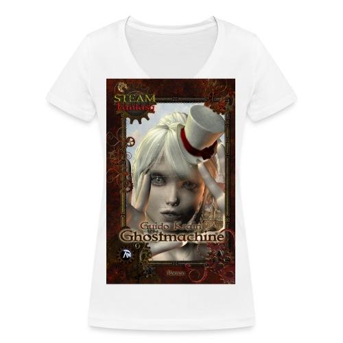 coversteamfantasy3 - Frauen Bio-T-Shirt mit V-Ausschnitt von Stanley & Stella
