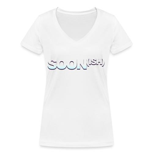 SOON png - T-shirt ecologica da donna con scollo a V di Stanley & Stella