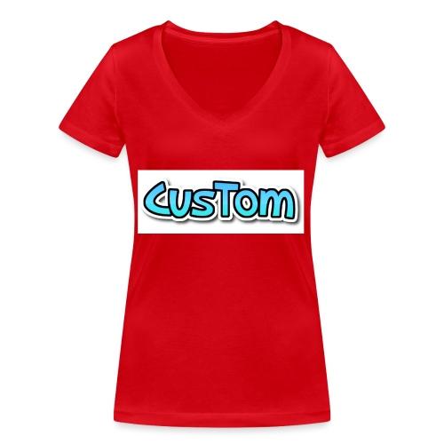 CusTom NORMAL - Vrouwen bio T-shirt met V-hals van Stanley & Stella