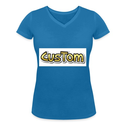 CusTom GOLD LIMETED EDITION - Vrouwen bio T-shirt met V-hals van Stanley & Stella