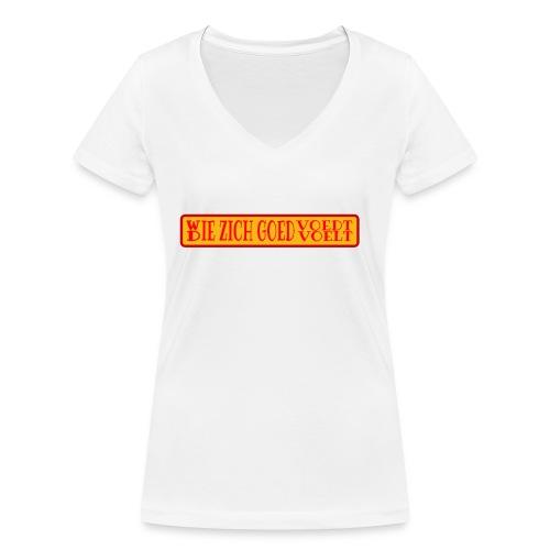 wie en die png - Women's Organic V-Neck T-Shirt by Stanley & Stella