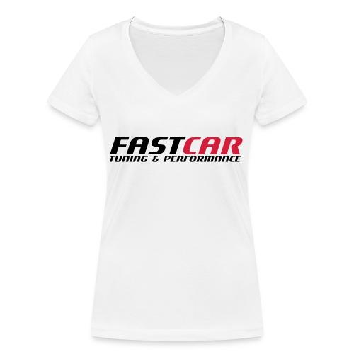 fastcar-eps - Ekologisk T-shirt med V-ringning dam från Stanley & Stella
