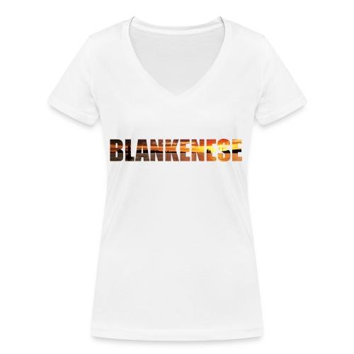 Blankenese Hamburg - Frauen Bio-T-Shirt mit V-Ausschnitt von Stanley & Stella