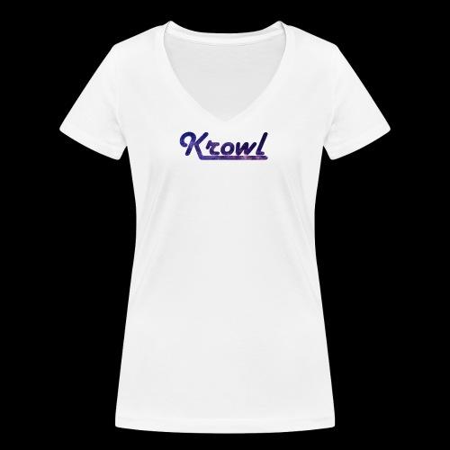 Krowl 1st Old Side Design - T-shirt bio col V Stanley & Stella Femme