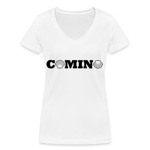 Camino - Økologisk Stanley & Stella T-shirt med V-udskæring til damer