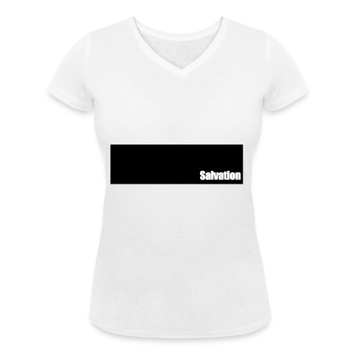 Salvation - Frauen Bio-T-Shirt mit V-Ausschnitt von Stanley & Stella