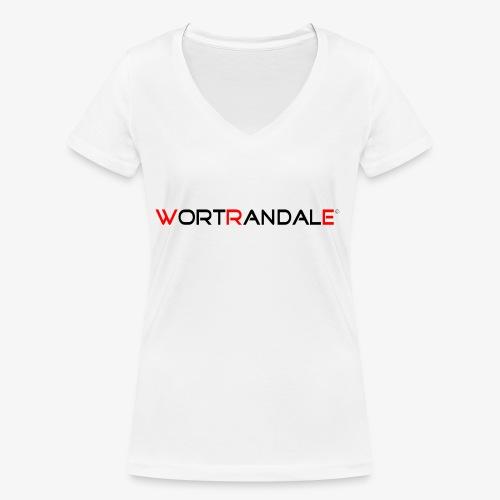 Wortrandale - Frauen Bio-T-Shirt mit V-Ausschnitt von Stanley & Stella