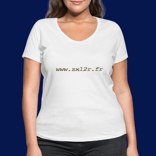 www zx12r fr OR - T-shirt bio col V Stanley & Stella Femme