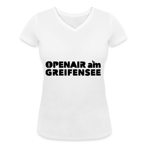 Openair am Greifensee 2018 - Frauen Bio-T-Shirt mit V-Ausschnitt von Stanley & Stella