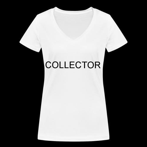 COLLECTOR - Vrouwen bio T-shirt met V-hals van Stanley & Stella
