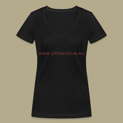 .243 Tactical Website - Vrouwen bio T-shirt met V-hals van Stanley & Stella