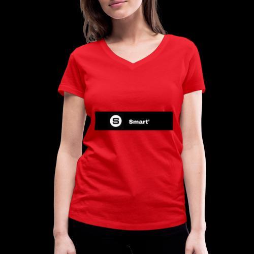 Smart' BOLD - Women's Organic V-Neck T-Shirt by Stanley & Stella