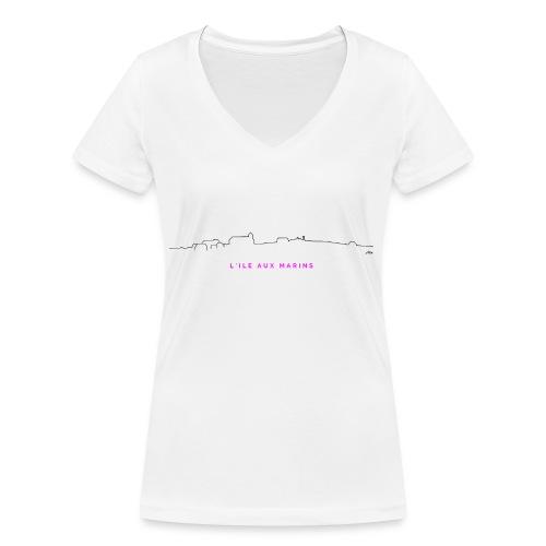 aLIX aNNIV - T-shirt bio col V Stanley & Stella Femme