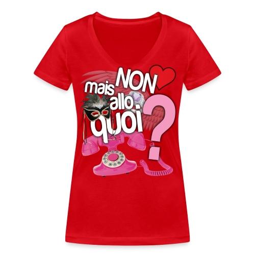 allo2 png - T-shirt bio col V Stanley & Stella Femme