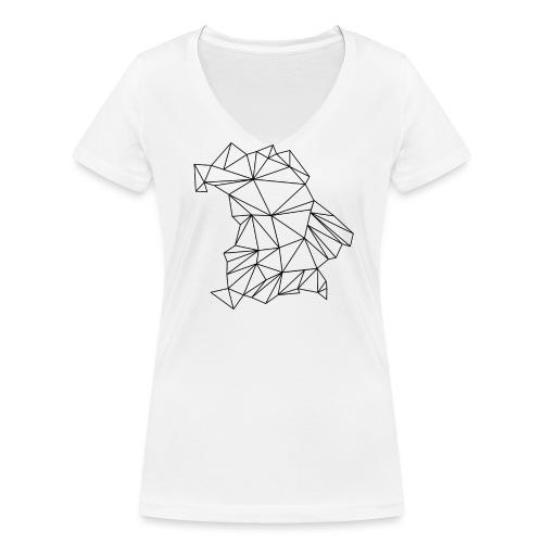 Bayern - Frauen Bio-T-Shirt mit V-Ausschnitt von Stanley & Stella