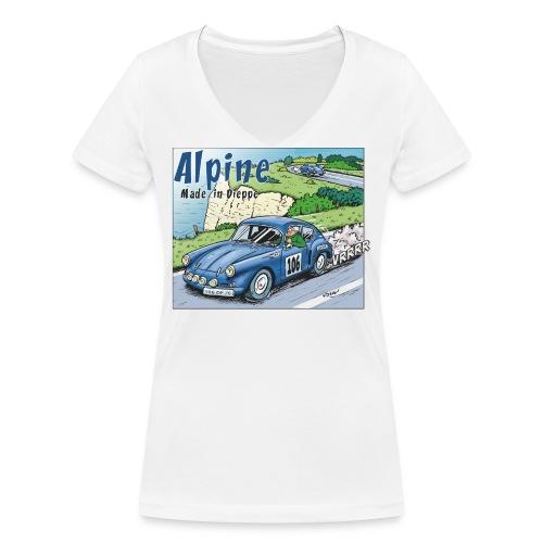 Polete en Alpine 106 - T-shirt bio col V Stanley & Stella Femme