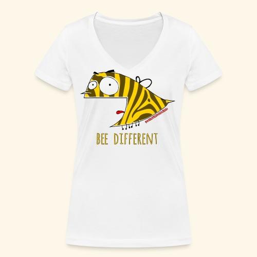 Di Fabio Ferroni - T-shirt ecologica da donna con scollo a V di Stanley & Stella
