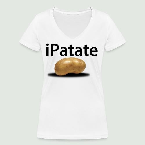 iPatate - T-shirt bio col V Stanley & Stella Femme