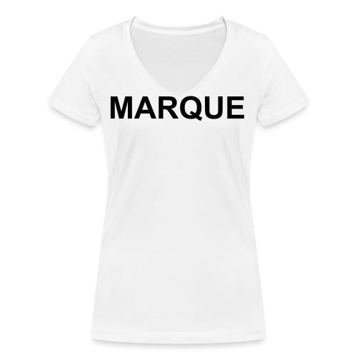 MARQUE - T-shirt bio col V Stanley & Stella Femme