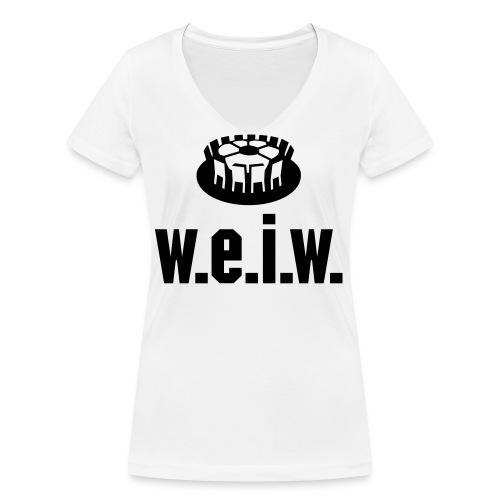 Titeltraum - Frauen Bio-T-Shirt mit V-Ausschnitt von Stanley & Stella