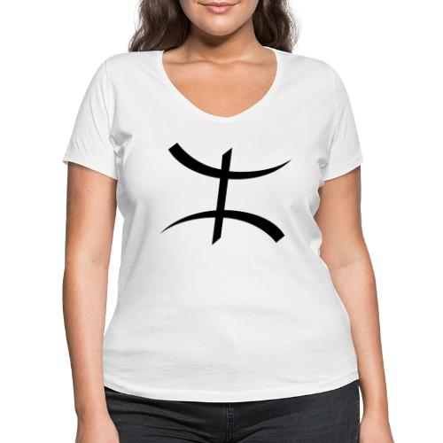 Motif Kabyle - T-shirt bio col V Stanley & Stella Femme