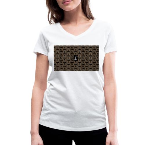 Simoes Signum Lux - Frauen Bio-T-Shirt mit V-Ausschnitt von Stanley & Stella
