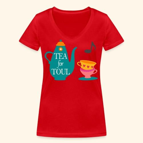 Tea for Toul - T-shirt bio col V Stanley & Stella Femme