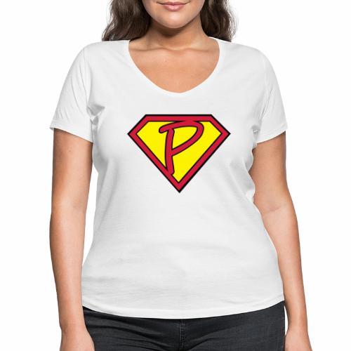 superp 2 - Frauen Bio-T-Shirt mit V-Ausschnitt von Stanley & Stella