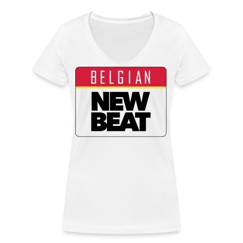 BNB LOGO - Vrouwen bio T-shirt met V-hals van Stanley & Stella