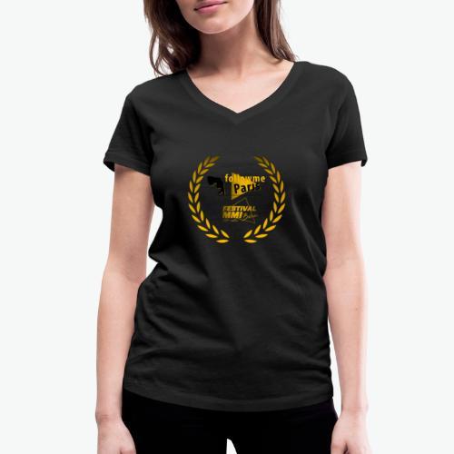 Followme Paris lauréat Festival MMI Béziers - T-shirt bio col V Stanley & Stella Femme