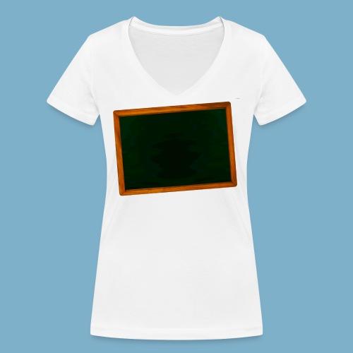 Schul Tafel - Frauen Bio-T-Shirt mit V-Ausschnitt von Stanley & Stella